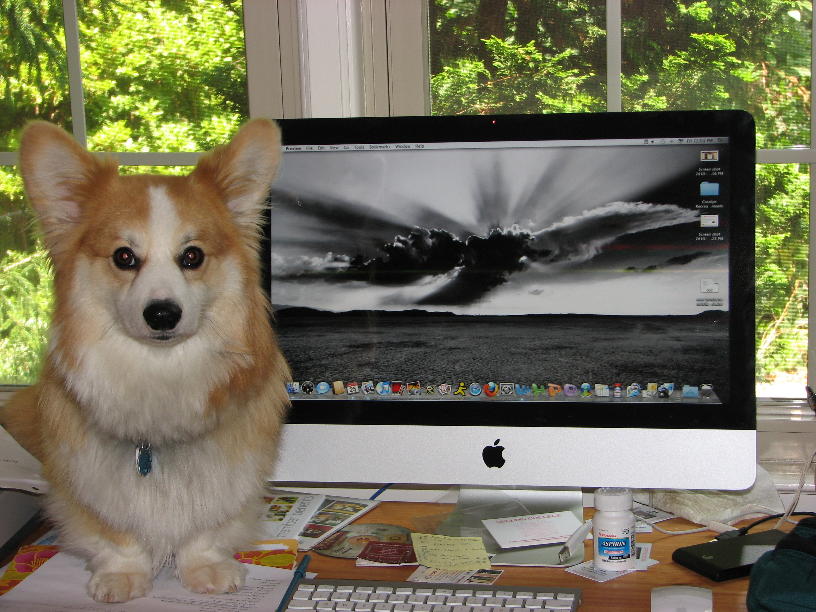Marcus' iMac - it's a wonder what you can do with them.JPG