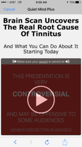 Quiet Mind Plus Any Good Tinnitus Talk Support Forum
