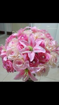 Rose&lillies