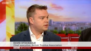 David Stockdale - British Tinnitus Association