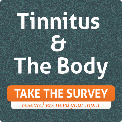 button for tinnitus and the body survey